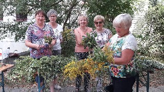 Kräuterbuschen basteln