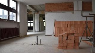 Baufortschritt im BGZ