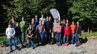 Ministrantenausflug in den Kletterwald Scherneck