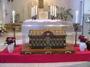 Reliquien der hl. Therese von Lisieux