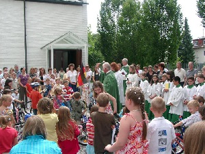 Kinderfahrzeugsegnung 2008