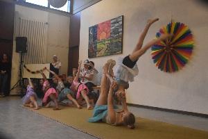 Die Akrobatik-Minis des TSV