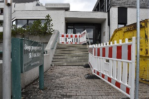 Baufortschritt im BGZ am 01. Oktober 2017