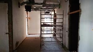 Baufortschritt im Januar