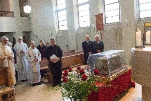 Reliquienschrein in St. Franziskus