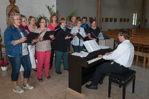 Abendmesse mit dem Chor Jubilate