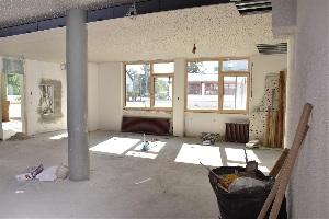Baufortschritt nach einem Jahr - Foyer