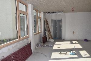 Baufortschritt nach einem Jahr - Küche