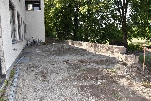 Baufortschritt nach einem Jahr - Baufortschritt nach einem Jahr - Außenbereich h