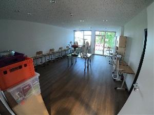Baufortschritt im September 2018