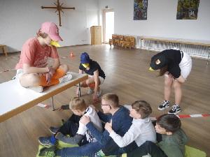 Einweihung des BGZ und Gruppenraum der Jugend